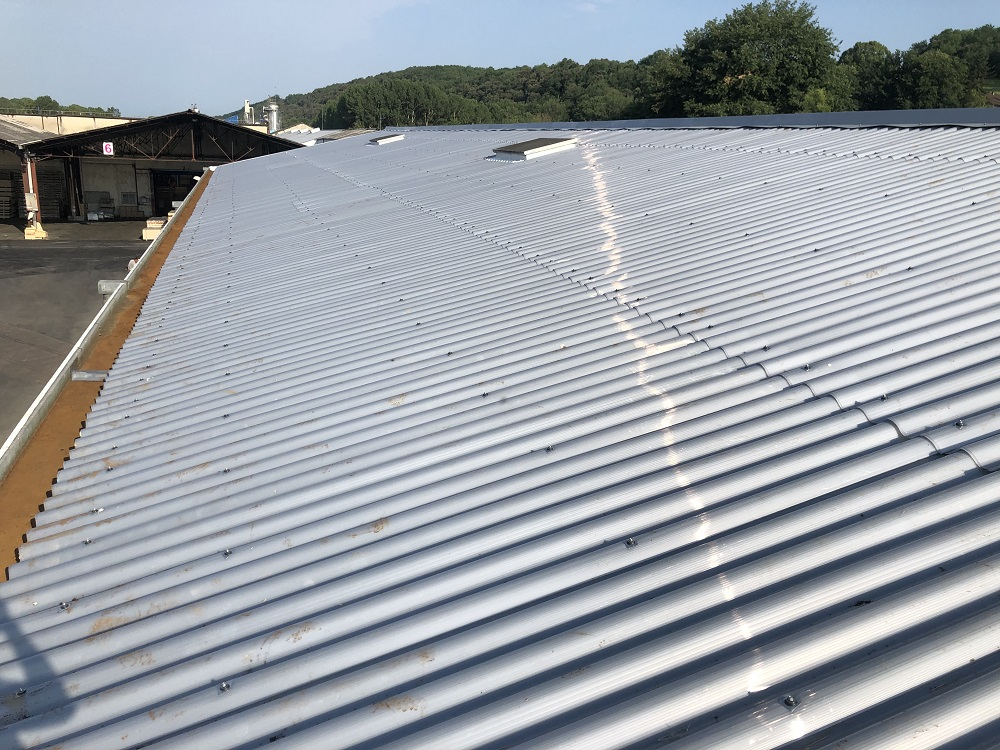 Rénovation de toiture fibro ciment amiantée - Nand Industrie